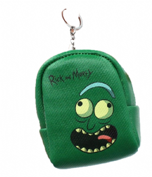 Rick & Morty Pickle Rick Purse